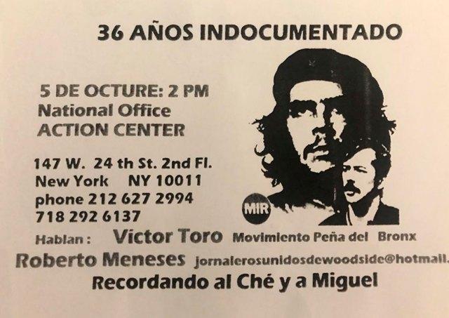 Este acto de octubre será la primera aparición pública de Toro en 2019.