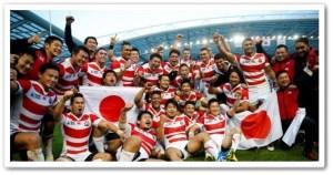 ラグビー=日本代表、W杯で南アフリカに歴史的勝利