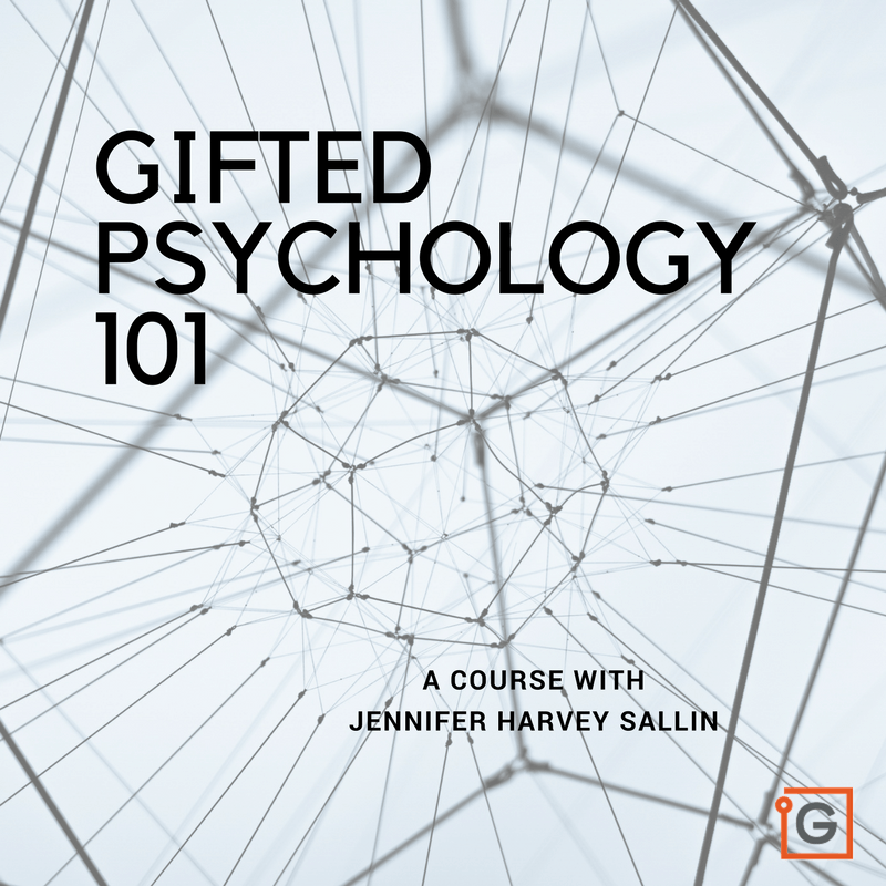 Gifted Psychology 101 – an online course for psychologists, therapists, counselors & social workers – Starting February 7th