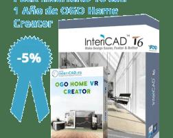Pack InteriCAD T6 + 1 Año de OGO Home