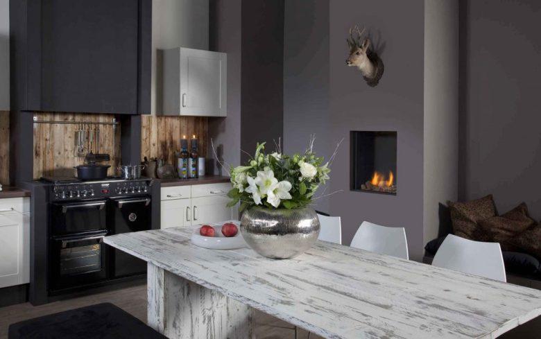 Open haard ideeen voor een warme sfeer interieur ideeen - Open haard keuken photo ...
