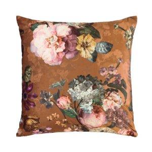 Essenza Essenza sierkussen Fleur 50x50 leather-brown