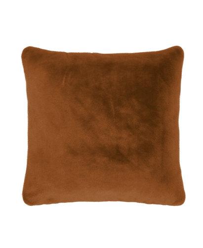 Essenza Essenza sierkussen Furry 50x50 leather-brown