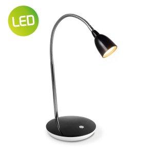 Home sweet home LED bureaulamp Flexy ↕ 41,5 cm - zwart