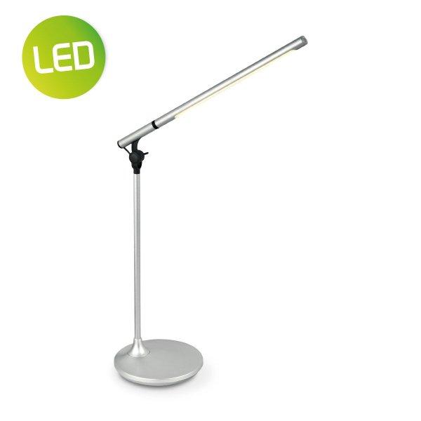 Home sweet home LED bureaulamp Halo ↕ 42 cm - zilver