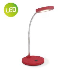 Home sweet home LED bureaulamp Polly ↕ 28 cm - rood