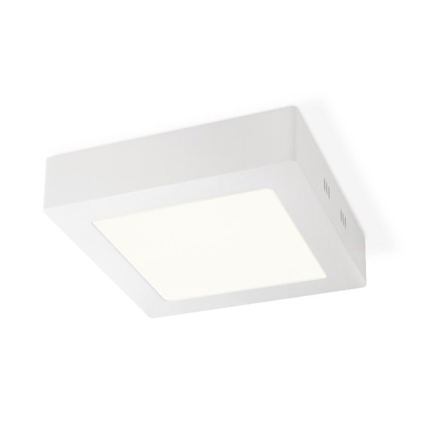 Home sweet home LED plafondlamp Ska vierkant 17 - wit