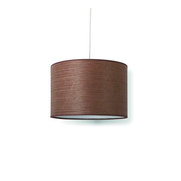Home sweet home hanglamp Carve 30 - notenhout bruin