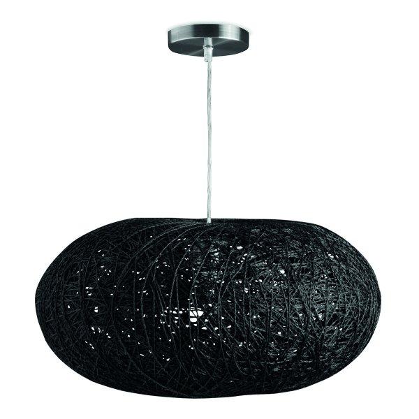 Home sweet home hanglamp Cocon ovaal - zwart