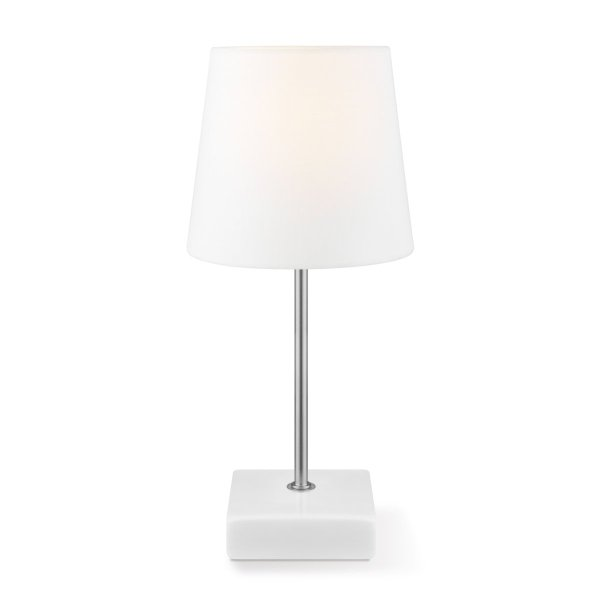 Home sweet home tafellamp Arica ↕ 27 cm - wit