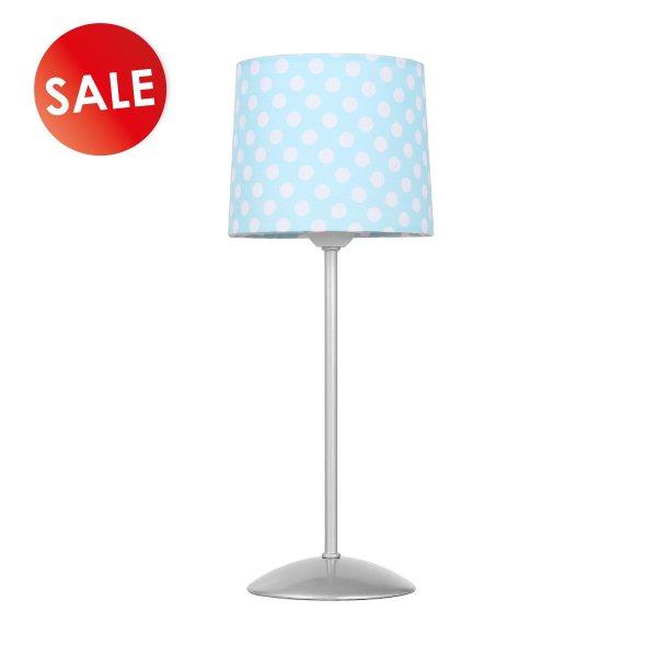 Home sweet home tafellamp Dot ↕ 35 cm - blauw