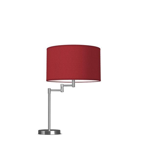 Home sweet home tafellamp Swing Bling 35 - rood