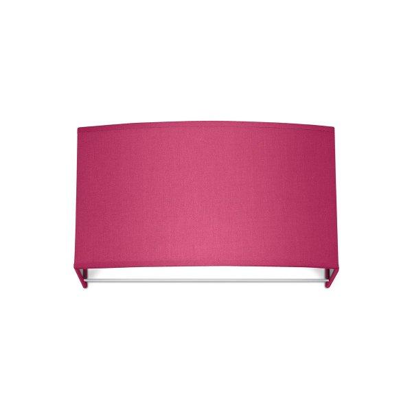 Home sweet home wandlamp Funk ↔ 31 cm - roze