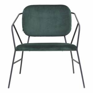 House Doctor Klever Lounge Chair Stof Groen