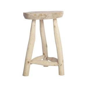 House Doctor Pure Nature Stool Hout Default