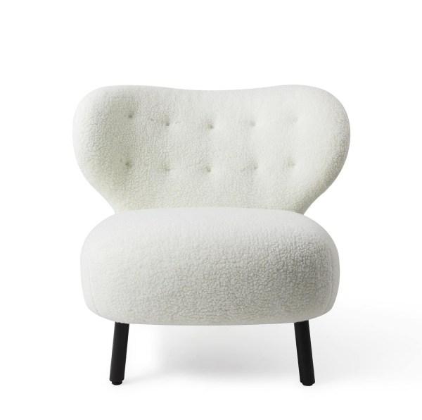 Jesper Home Kita Lounge stoel Stof Cream