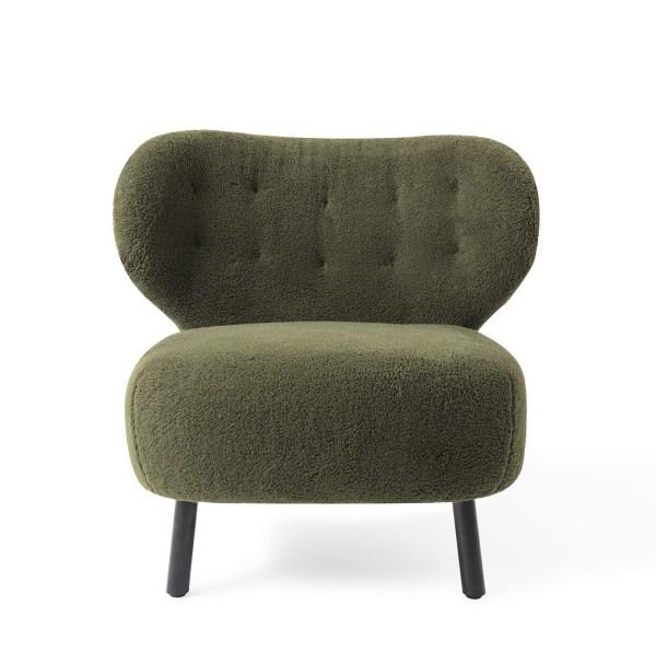 Jesper Home Kita Lounge stoel Stof Green