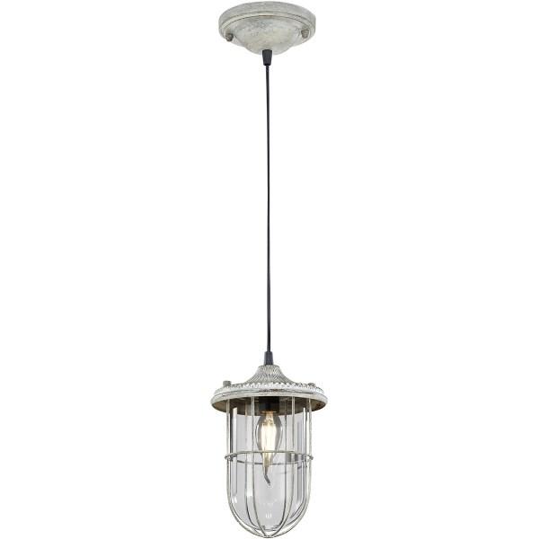 LED Hanglamp - Trion Brinity - E14 Fitting - Rond - Antiek Grijs - Aluminium