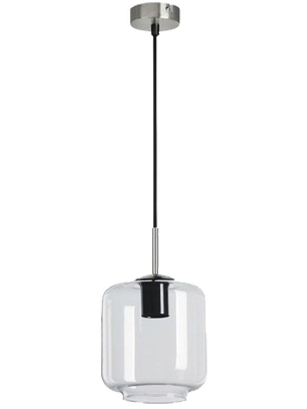 Light depot hanglamp Cylinder E27 - helder glas
