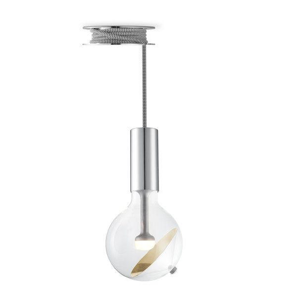 Move Me hanglamp Pulley - grijs