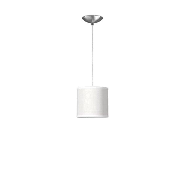 hanglamp basic bling Ø 16 cm - wit