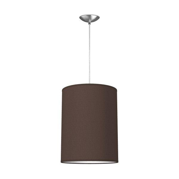 hanglamp basic tube Ø 30 cm - bruin