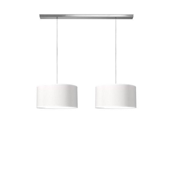 hanglamp beam 2 bling Ø 45 cm - wit