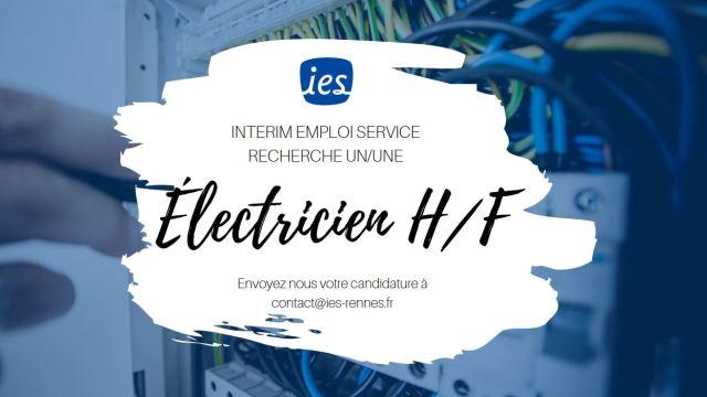 offre-emploi-electricien-hf-interim-emploi-service-ies