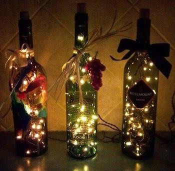 お部屋に飾りたいおしゃれなイルミネーションライトの実例