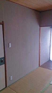 和室の壁を塗替