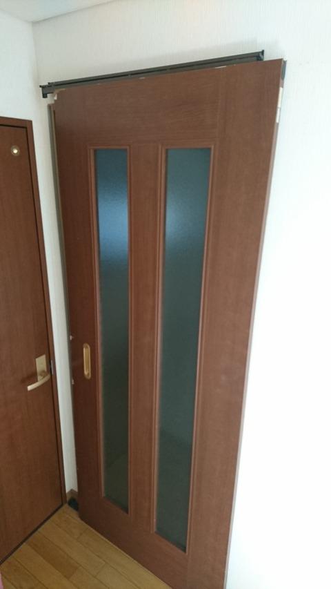 ドアの取替え (宇治市)