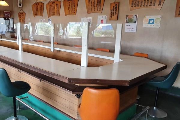 飲食店での新型コロナ対策アクリル板加工(京都府八幡市)