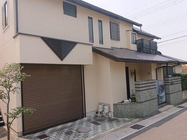 屋根・外壁塗装工事(京都府宇治市)