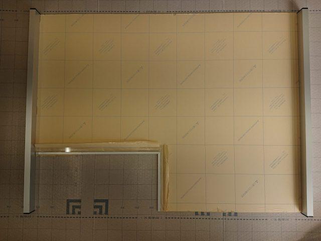 薬局受付窓口のアクリル板加工(京都市)