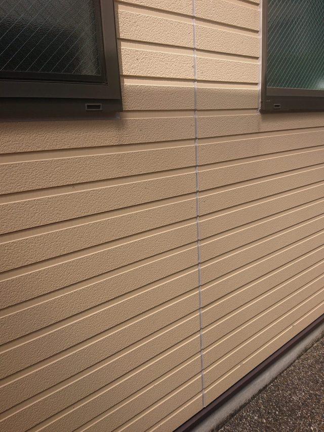 外壁サイディングのコーキング打ち替え工事(京都市南区)
