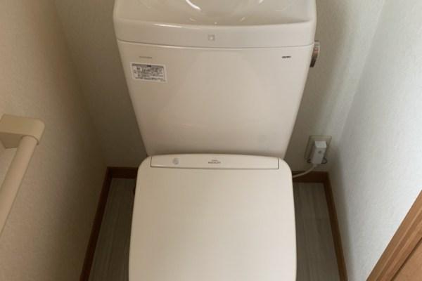 トイレ便器取替工事(宇治市)