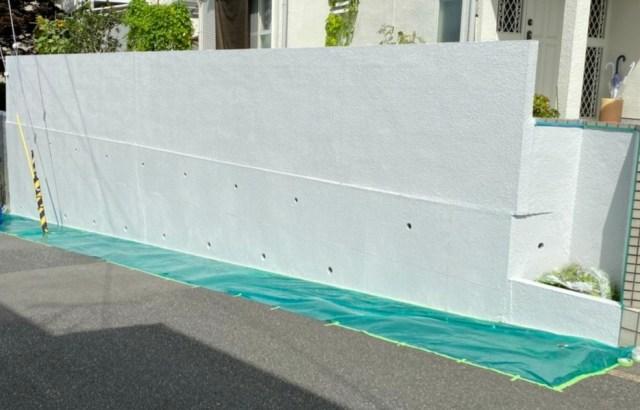 外壁塗装補修工事(宇治市)