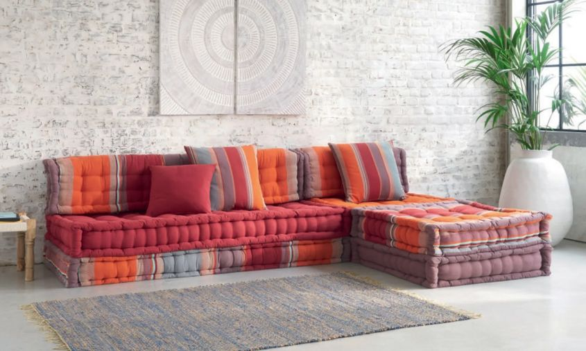 Divano letto vintage 3 posti marrone in similpelle scamosciata arizona su maisons du monde. Maisons Du Monde Sofas Exclusive Models To Furnish The Living Room Interior Magazine Leading Decoration Design All The Ideas To Decorate Your Home Perfectly