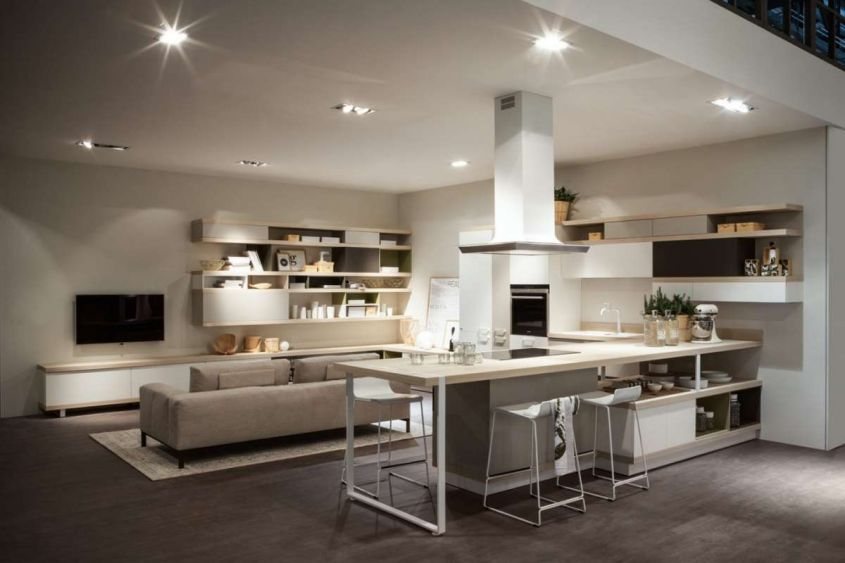 I principi fondamentali per arredare un soggiorno moderno. How To Furnish A Kitchen And Living Room In An Open Space Tips And Ideas For Your Home Interior Magazine Leading Decoration Design All The Ideas To Decorate Your Home Perfectly