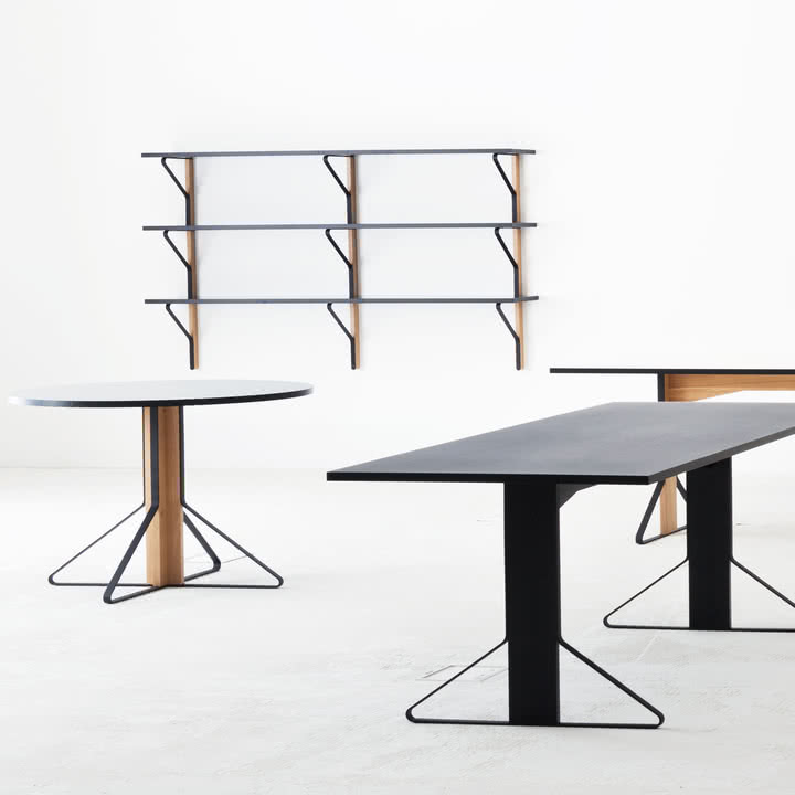 Kaari Collection Design by Ronan & Erwan Bouroullec for Artek – Table, Shelf, Desk…
