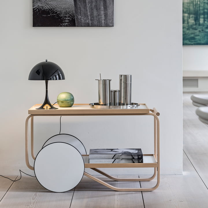 6 Amazing Serving Trolley Designs – Artek, Aalta, Kartell, Fermob…