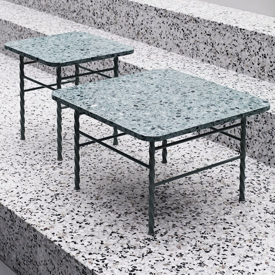 We Love this Terrazzo Side Table Design by Simon Legald for Normann Copenhagen