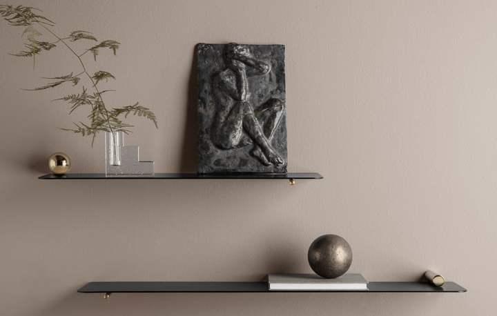wall shelf ferm living flying shelf