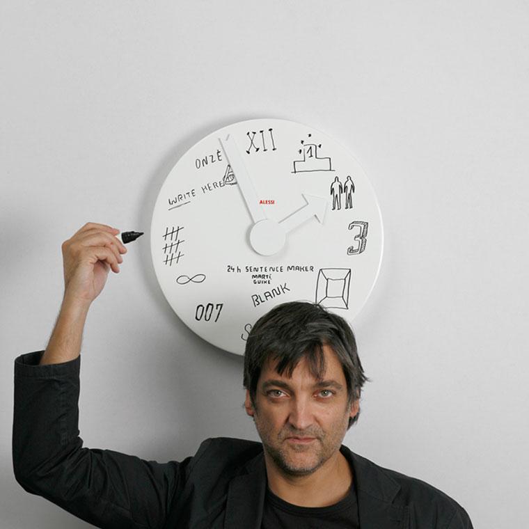 7 Crazy Alessi Wall Clock Designs