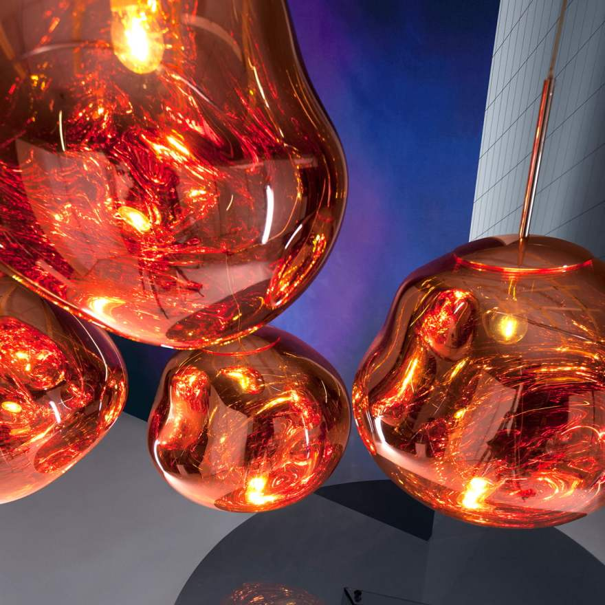 The New Lava Lamp – Melt Pendant Light by Tom Dixon