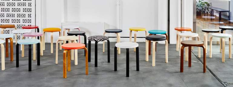 Sensational Artek And Hella Jongerius Make The Alvar Aalto Stool 60 Creativecarmelina Interior Chair Design Creativecarmelinacom