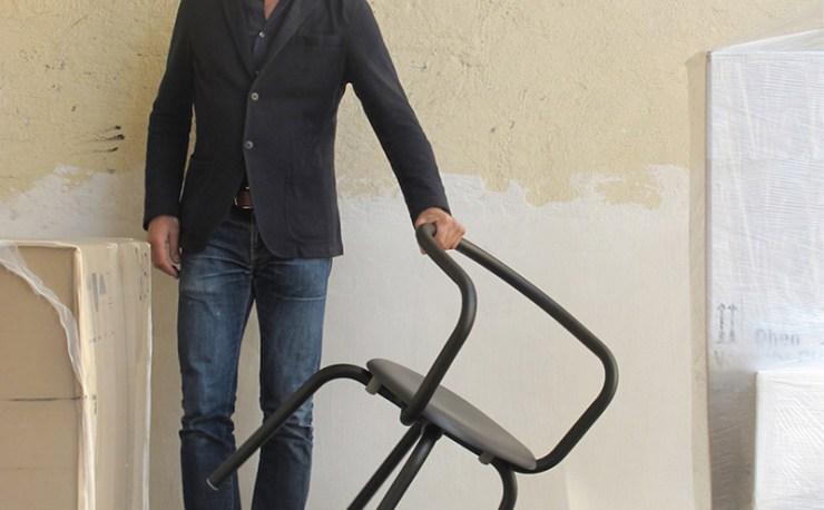 Emeco - Parrish Chair at the Parrish Museum by Herzog & de Meuron, Konstantin Grcic