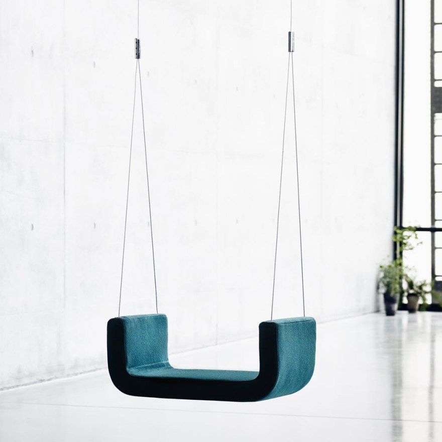 The Design Swing for Adults and Children from Busk+Hertzog for Softline