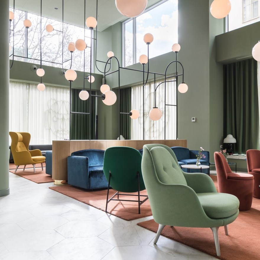 The Finest Design Hotel – Torre de Madrid by Designer Jaime Hayon