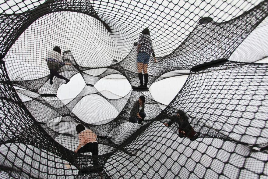 So Much Fun – Rope and Net Art Installations by the Design Collective Numen/For Use